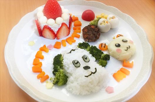 わんわん・誕生日プレート離乳食.jpg